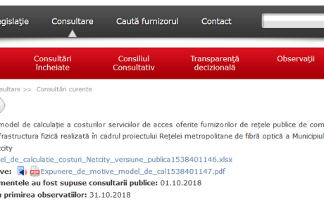 consultare ANCOM NetCity